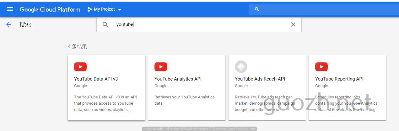 《【图文详解】2019 通过 Google Api 上传视频到 Youtube》