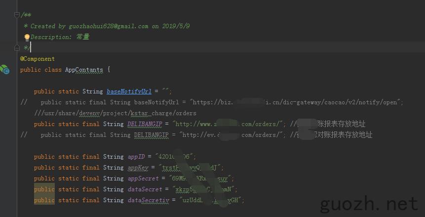 《Spring boot灵活切换配置文件,static静态变量配置文件读取》