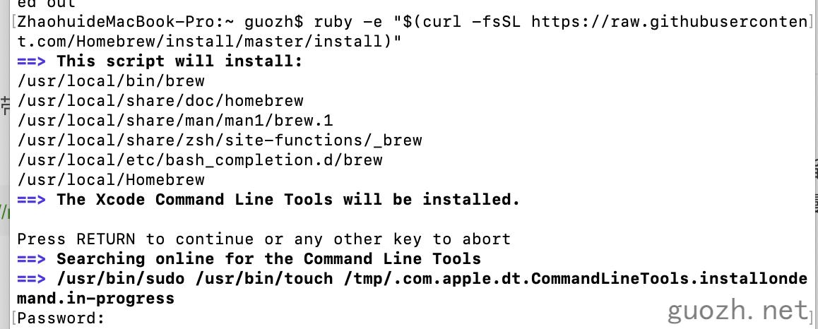 《macOS 安装 Git 图文教程 ,顺便安装 Homebrew》