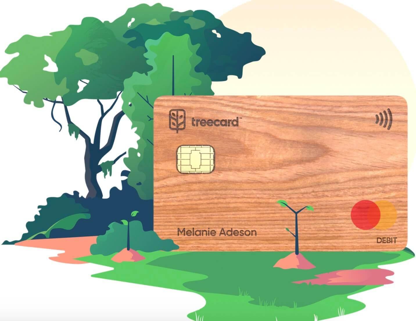 《免费注册 TreeCard ,申请 Mastercard 木质借记卡,数字移民必备》