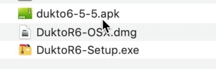 《使用 Dukto 在局域网传文件,点对点速度快,支持跨平台无网络传输》