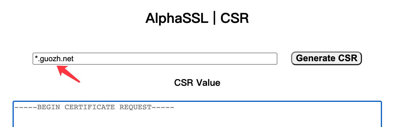 《申请 AlphaSSL 泛域名证书,图文详细教程》